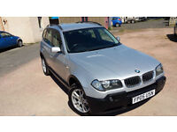 BMW X3 2.0d SE WITH SERVICE HISTORY