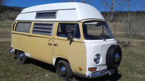 1970 Volkswagen Type 2 HighTop Contempo Camper