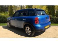 2014 Mini Countryman 1.6 Cooper D 5dr Manual Diesel Hatchback