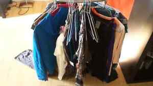 Clothes, scarfs, dresses and pants
