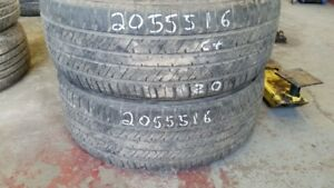 Pair of 2 Triangle SJHTT 205/55R16 tires (65% tread life)