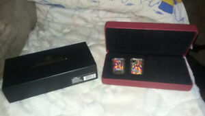 2008 playing card money coin set