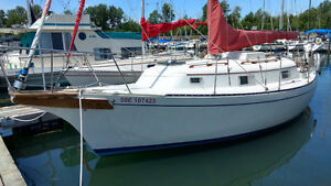 1980 Bayfield 29 for sail and for sale