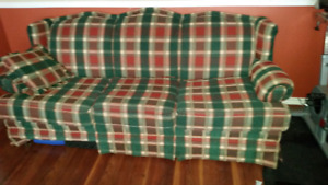 Free couch love seat and 2 lazy boys