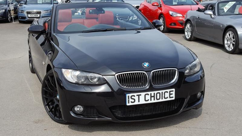 2007 bmw 3 series 325d m sport convertible black styling pack red leather in faringdon. Black Bedroom Furniture Sets. Home Design Ideas