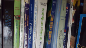 MANY TEXTBOOKS FOR SALE