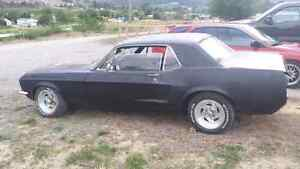 1967 mustang project car