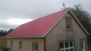 Steel roof Metal roof Installation Service