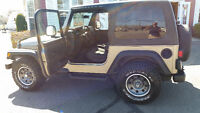 Jeep TJ....2003....Near Perfect with upgrades
