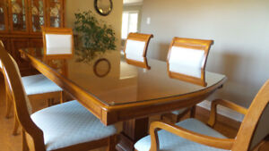 Dinning Room Table and Chairs and Hutch if wanted