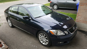 2006 Lexus GS300 Low Km Nav , camera fully loaded