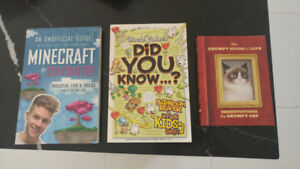 Various books in excellent condition. $10 each