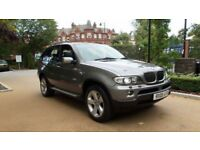 BMW X5 E53 2005 3.0d Panoramic Sunroof HD video surround sound with woofer