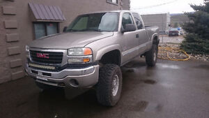 2003 CHEVROLET SILVERADO DURAMAX 2500  PICK UP 4X4