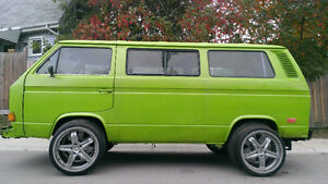 1982 VW Vanagon Diesel, refurbished mechanically and estheticaly