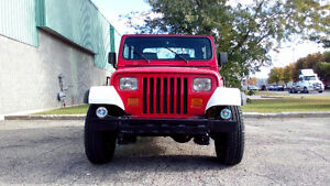 Jeep 94 YJ 2,5L **Économique** Bas Kilométrage