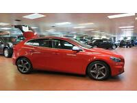 2014 VOLVO V40 D2 R DESIGN Lux Nav [Start Stop] Full Leather Bluetooth Voice Com