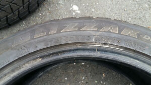 "20"" tires . 275/40R Low profile .only two . St. John's Newfoundland image 1"