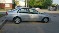 2002 Honda Civic LX Sedan cheap $1800 AS IS (with safety $2500)