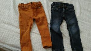 2 pantalons mexx et H&M