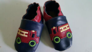 Best offer . Baby 0-6 month leather shoes