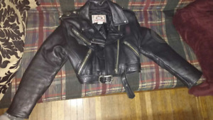 Parasuco Cropped Leather Jacket, $200