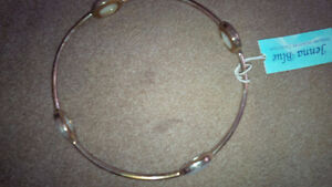 Silver New White Stone Bracelet - for sale ! Kitchener / Waterloo Kitchener Area image 2