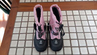 Girls pink Superfit   winter boots  size 11