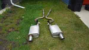Ford racing touring exhaust 11-14 mustang gt