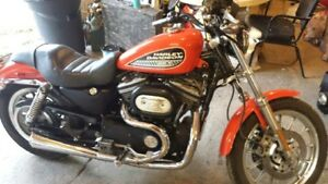 harley sportster with 1200 upgrade