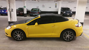 2009 Mitsubishi Eclipse Spider Convertible