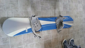 Board, boots and bindings--$50