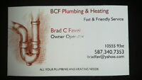 BCF PLUMBING & HEATING LOW RE-RE FURNACE RATE AROUND