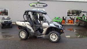 SOLD PENDING - 2012 Can-Am Commander 1000 XT Limited 4X4