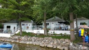 Cottage for Rent on Lake Simcoe on Grape Island
