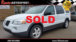 SOLD!!!  CERTIFIED 2009 MONTANA SV6 EXT - ONLY 87K!! - YORKTON