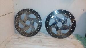 harley custom rotors