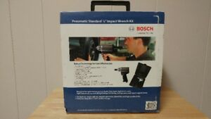 Bosch Pneumatic ½ Inch Impact Wrench Kit (New)