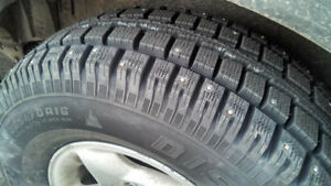 17 inch Studded Snow Tires