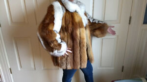 Magnificent Vintage Fur Coat from Sweden