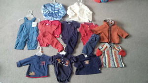 ~Brand Name Boy Clothing Lot, 6 months~