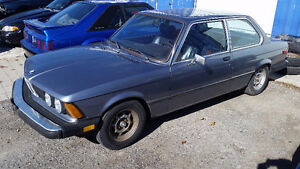 1979 BMW 320i manual coupe