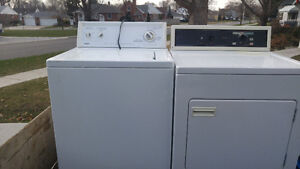 KENMORE WASHER AND DRYER FOR SALE