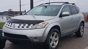 2005 Nissan Murano SL  $4000.00 TAKES IT CERT & TAXES IN!!!