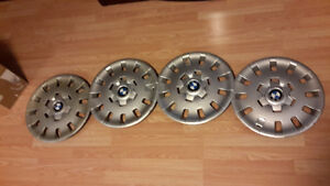 "3 Series BMW hubcaps for steel wheels 15"", original BMW parts!"