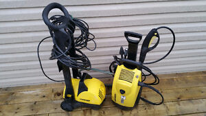 Selling Two Karcher Pressure Washers....$40..