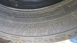 Selling winter tires with rims 185 65 15