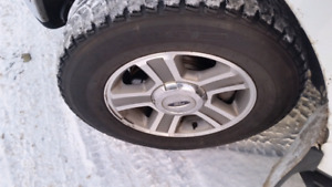 6 on 135mm Ford f150 rims and tires