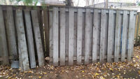 Wood Fence and spare boards