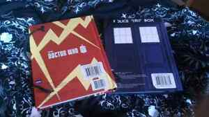 Doctor Who lined journals London Ontario image 2